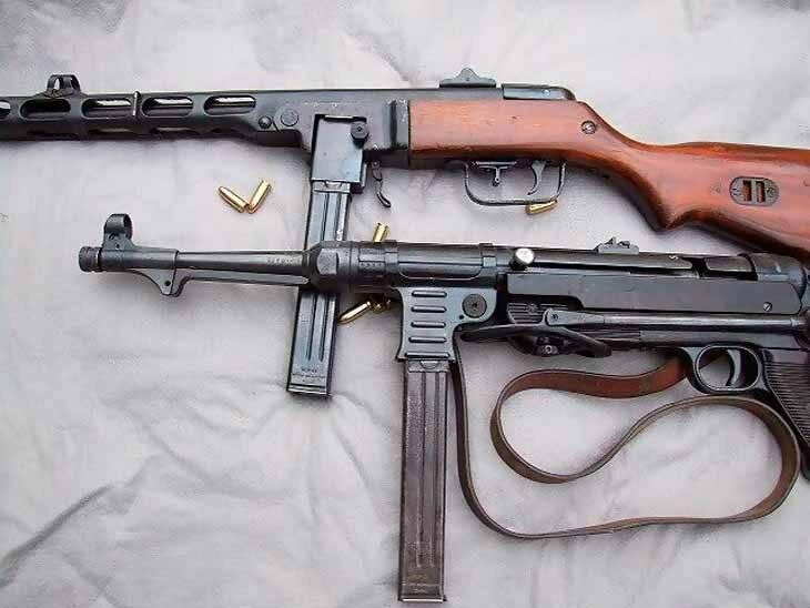 Пистолеты-пулеметы