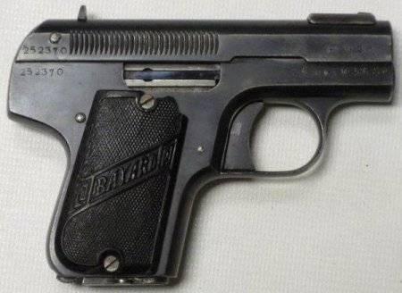 Пистолет steyr-pieper m1908/34 - австрийская классика.