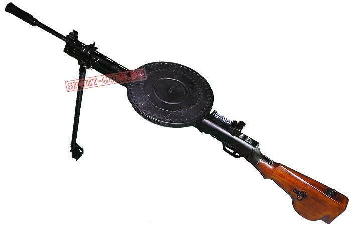 С очень далёкого завода. пистолет-пулемёт ппд-40
