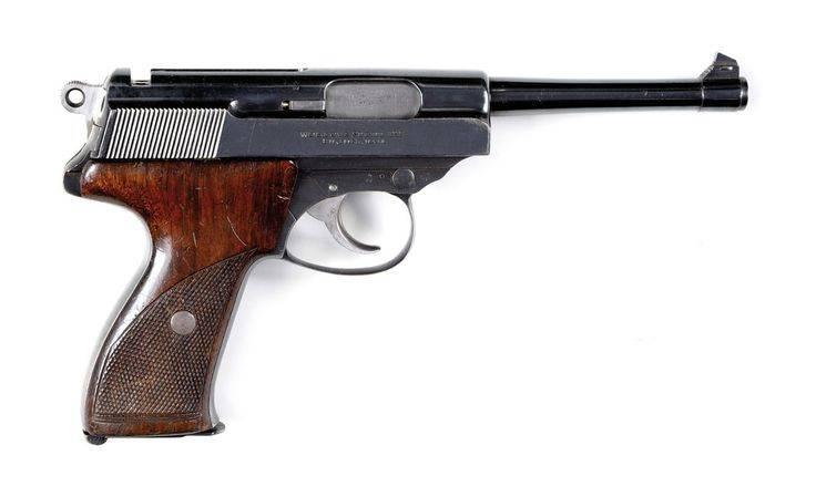 Пистолеты Webley & Scott