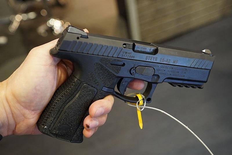 Пистолет steyr m9-a1 ттх. фото. видео. размеры. скорострельность. скорость пули. прицельная дальность