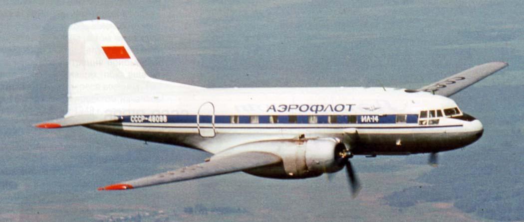 Самолет ил-14: фото, ттх