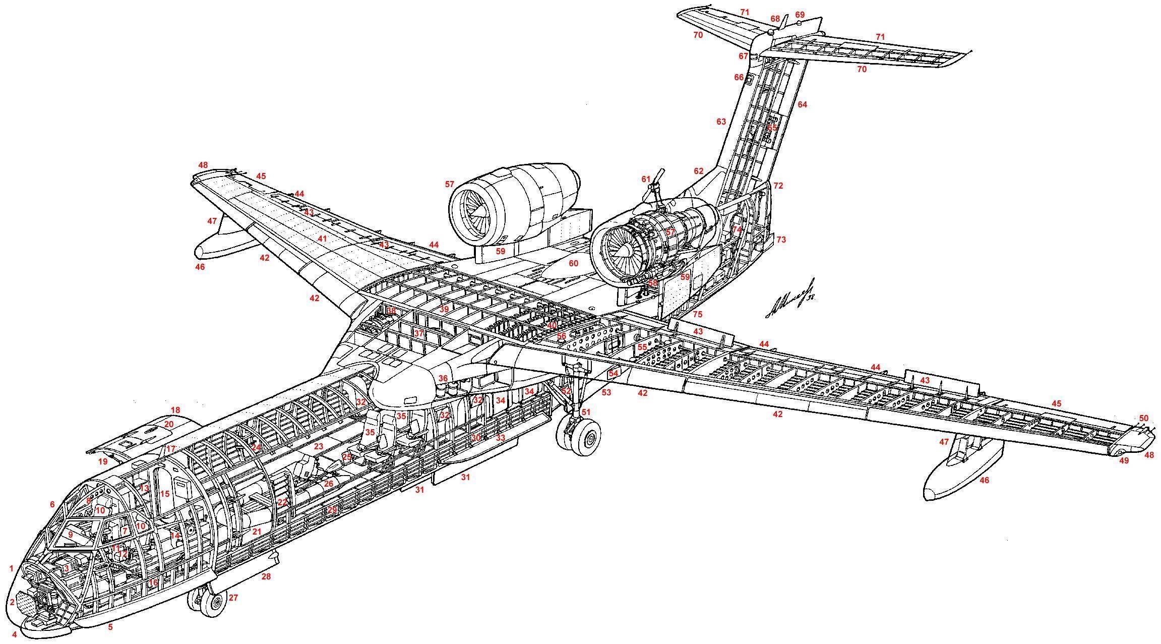 Boeing 707 • ru.knowledgr.com