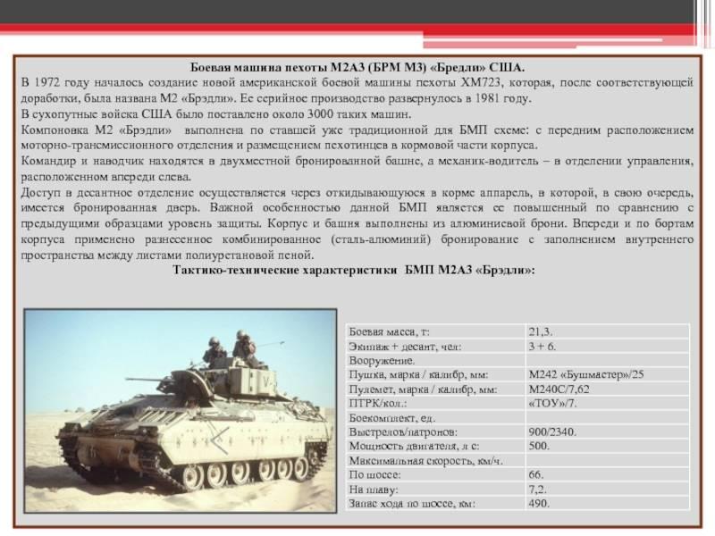 Зачем сша создают новую – старую боевую машину пехоты бредли (видео) – новости руан