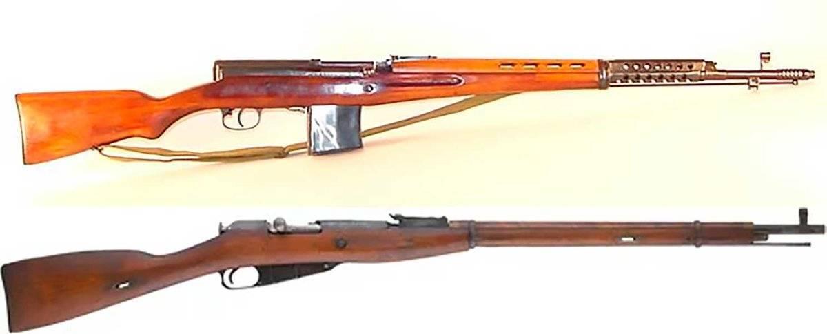 Самозарядная винтовка токарева википедия