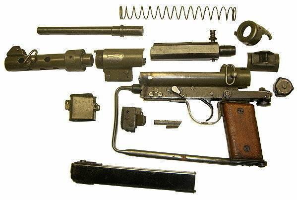 Vigneron пистолет-пулемет - vigneron submachine gun - qwe.wiki