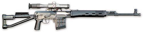 Подготовка снайпера. 7,62 мм снайперская винтовка драгунова - свд