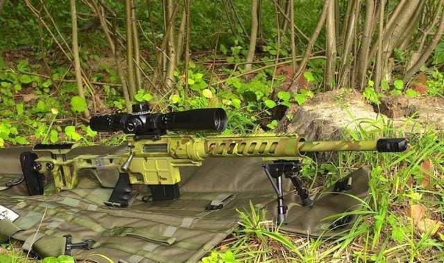 Снайперская винтовка Lobaev Arms ДВЛ-10 SABOTEUR