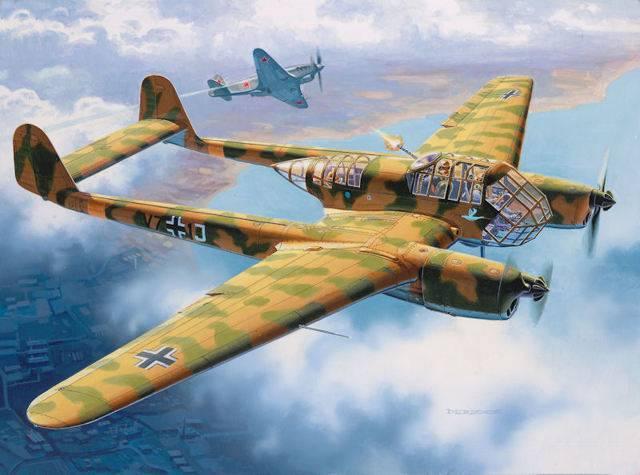 Focke-wulf fw 189 uhu — википедия. что такое focke-wulf fw 189 uhu
