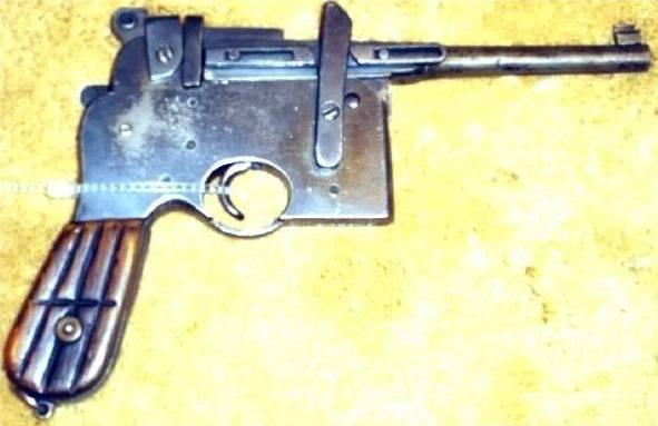 Маузер (пистолет) википедия