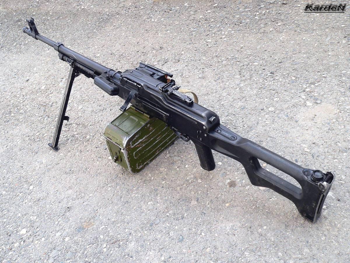 Вятская комбинация. пулемёт скомбинированным питанием «молот»