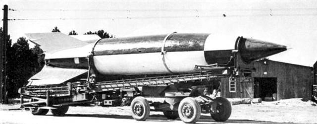 Система управления ракеты фау-2