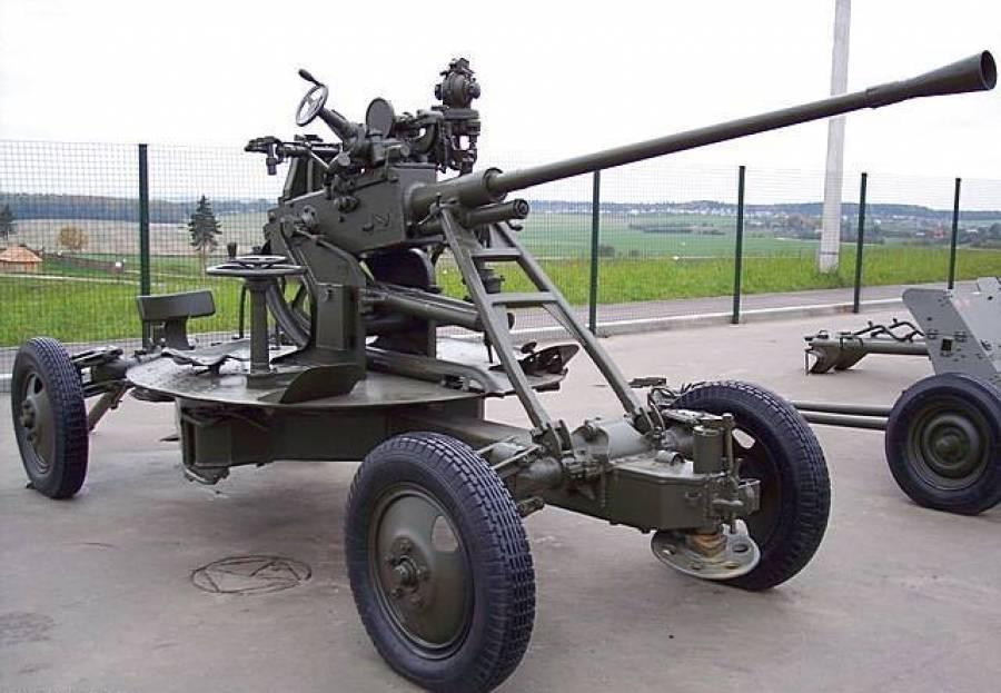 Мал золотник, да дорог – советская 37-мм автоматическая зенитная пушка 61-К 1939 года
