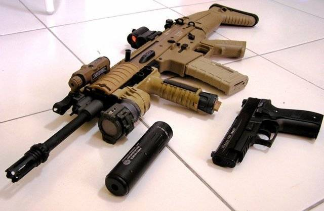 Fn scar - internet movie firearms database - guns in movies, tv and video games