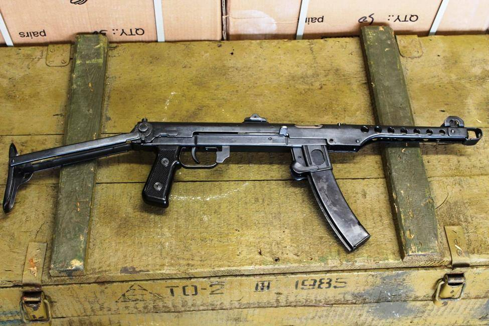 Пистолет-пулемёт Судаева-43