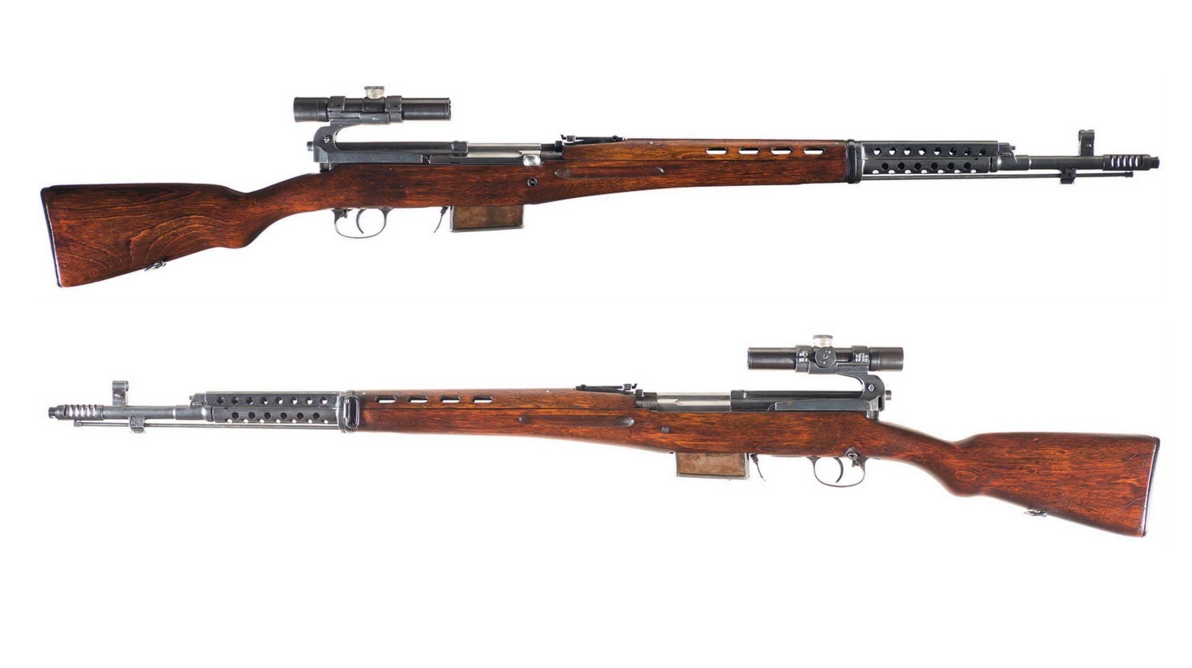 Самозарядная винтовка Токарева: модификации СВТ-38 и СВТ-40