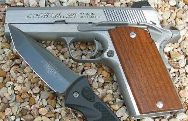 Coonan калибр 357 magnum — характеристики, фото, ттх
