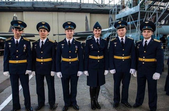 История униформы ВВС