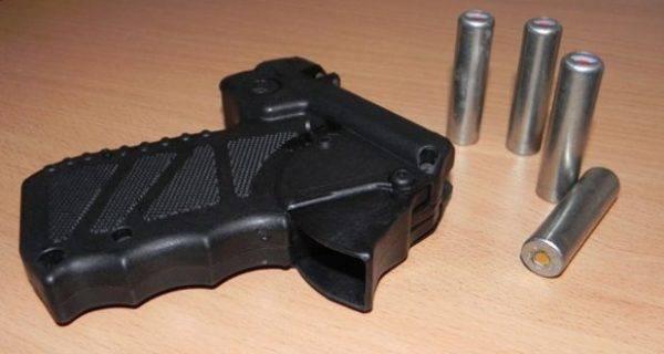 Бесствольный травматический пистолет кордон