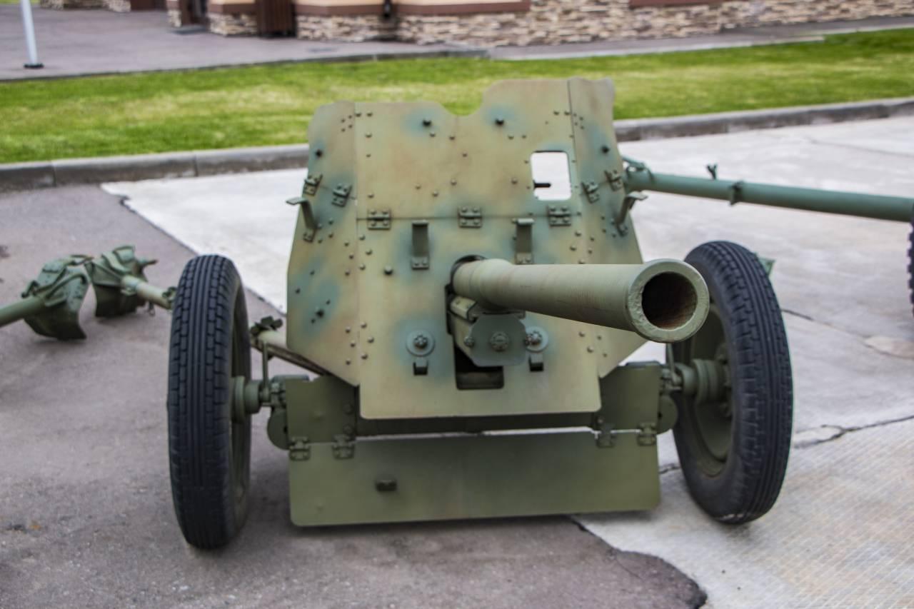 45-мм противотанковая пушка образца 1942 года (м-42) — википедия. что такое 45-мм противотанковая пушка образца 1942 года (м-42)
