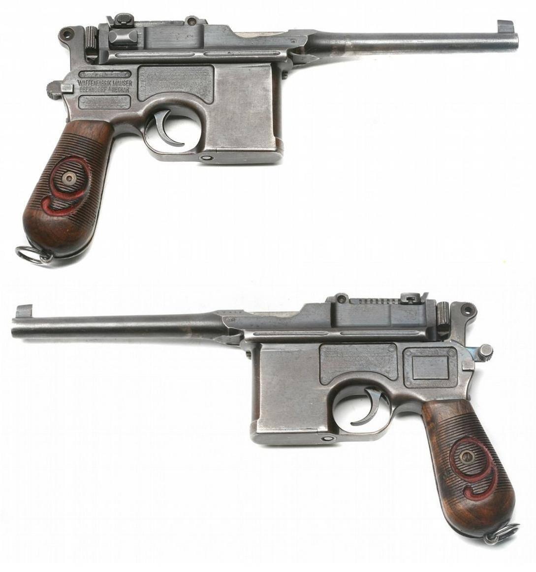 Пистолет маузер к96|mauser c96