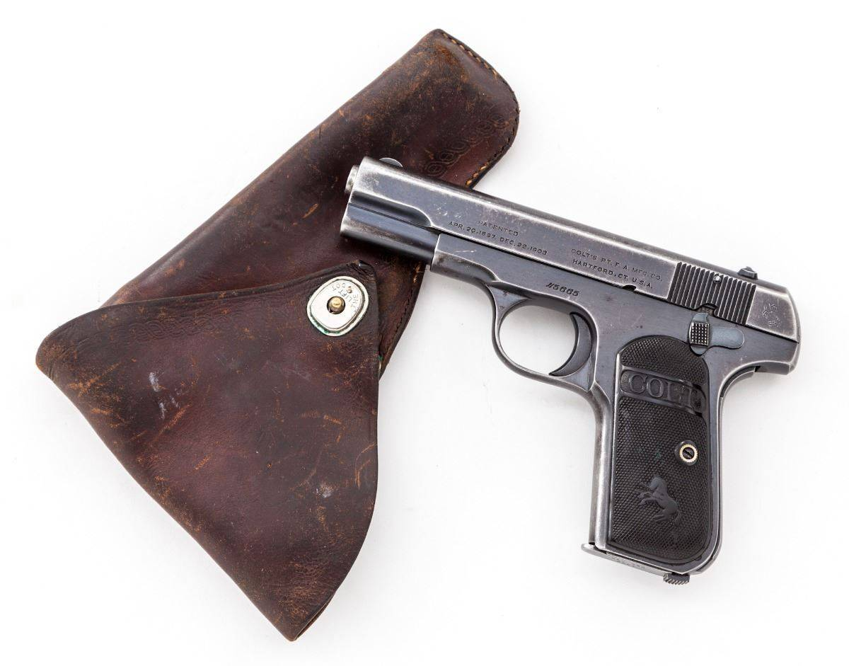 Пистолет colt m1903 automatic pocket
