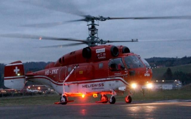 Вертолеты летят на помощь