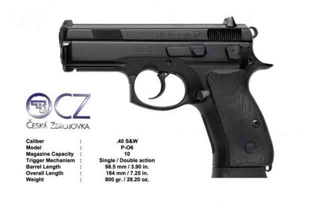 Чешский пистолет cz p-09 duty