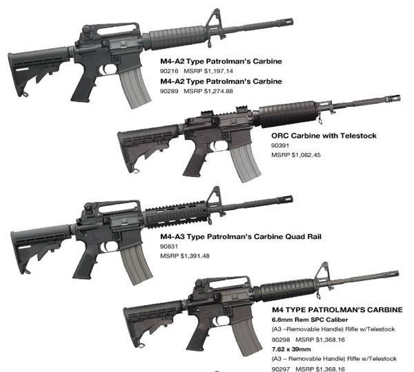 Штурмовая винтовка LWRC PSD