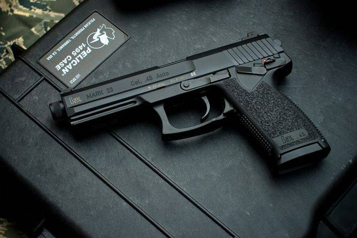 Пистолет Heckler und Koch Mark 23 Model 0 SOCOM Pistol