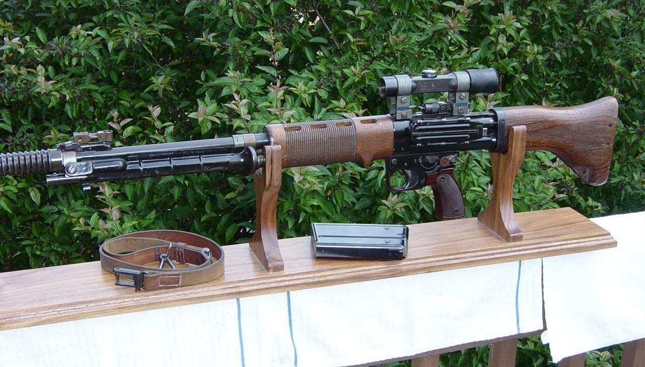 Fg 42 немецкая винтовка второй мировой войны