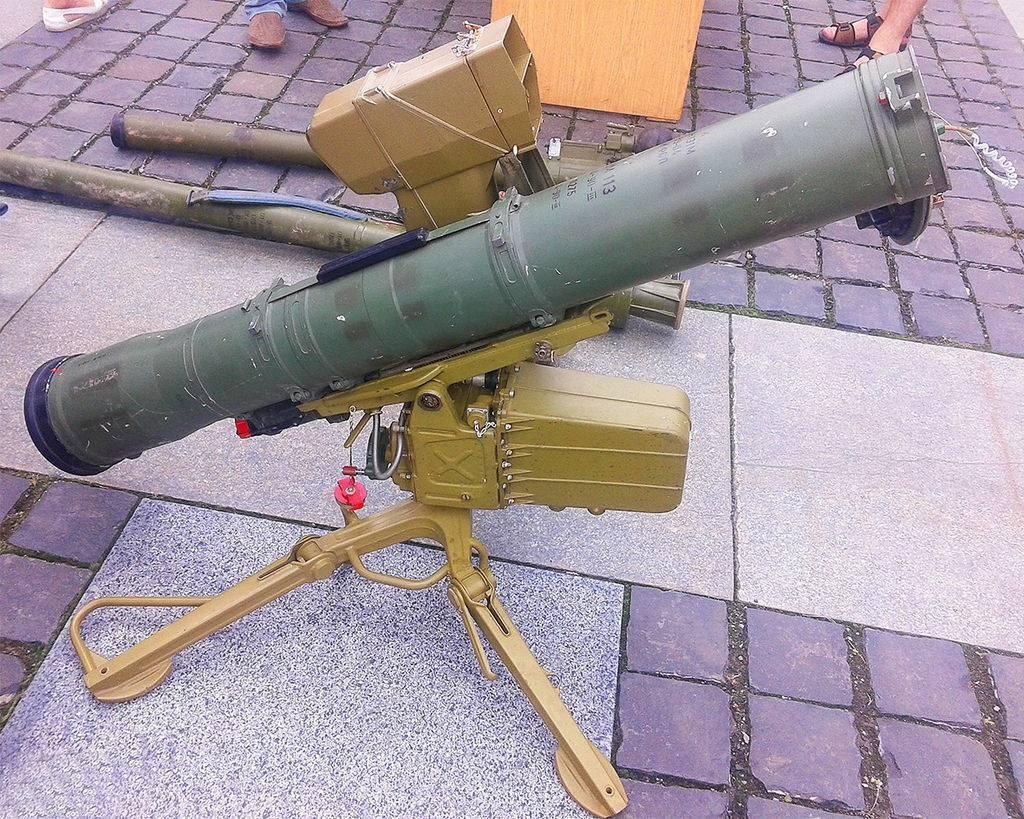 Противотанковый ракетный комплекс фагот