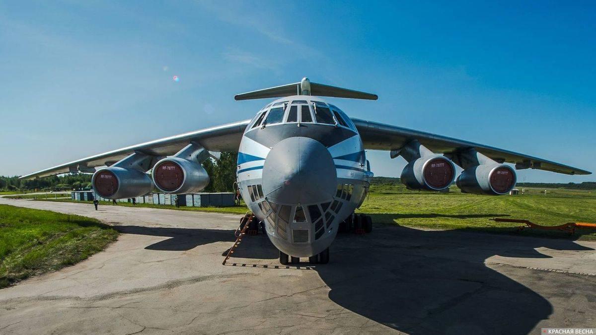 ил-276 —военно-транспортный самолет для перевооружения ввс рф