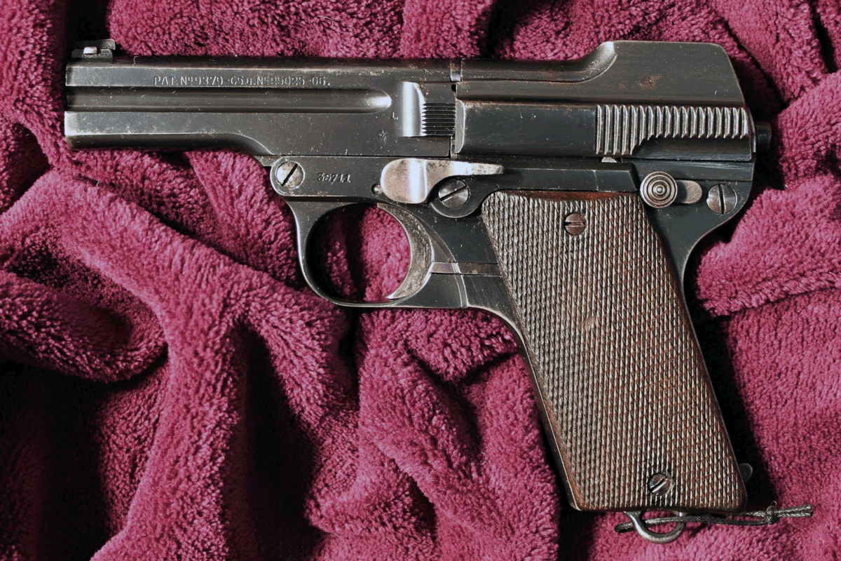 Пистолет Steyr-Pieper Model 1908