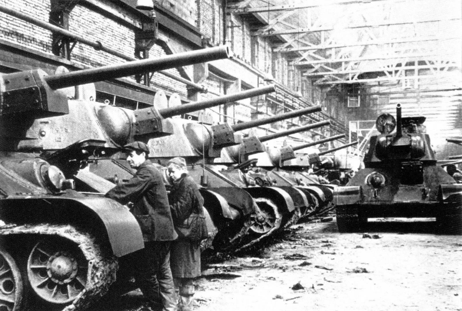 Броня победы: история танка т-34
