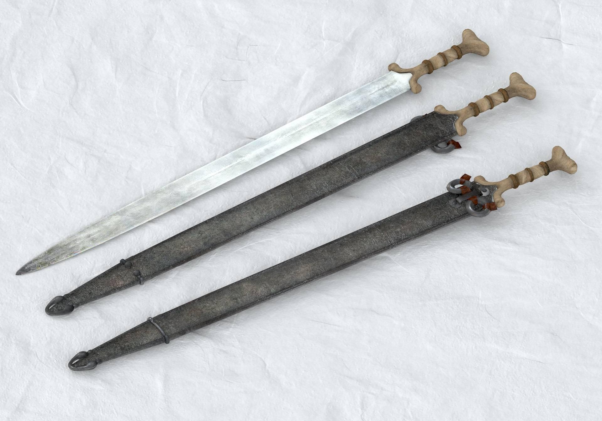 Мечи средневековья