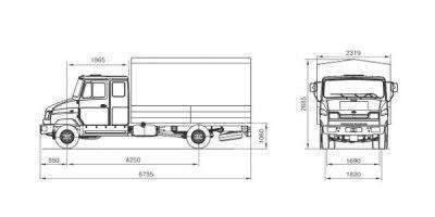 Тормозная система зил 5301 бычок принцип работы
