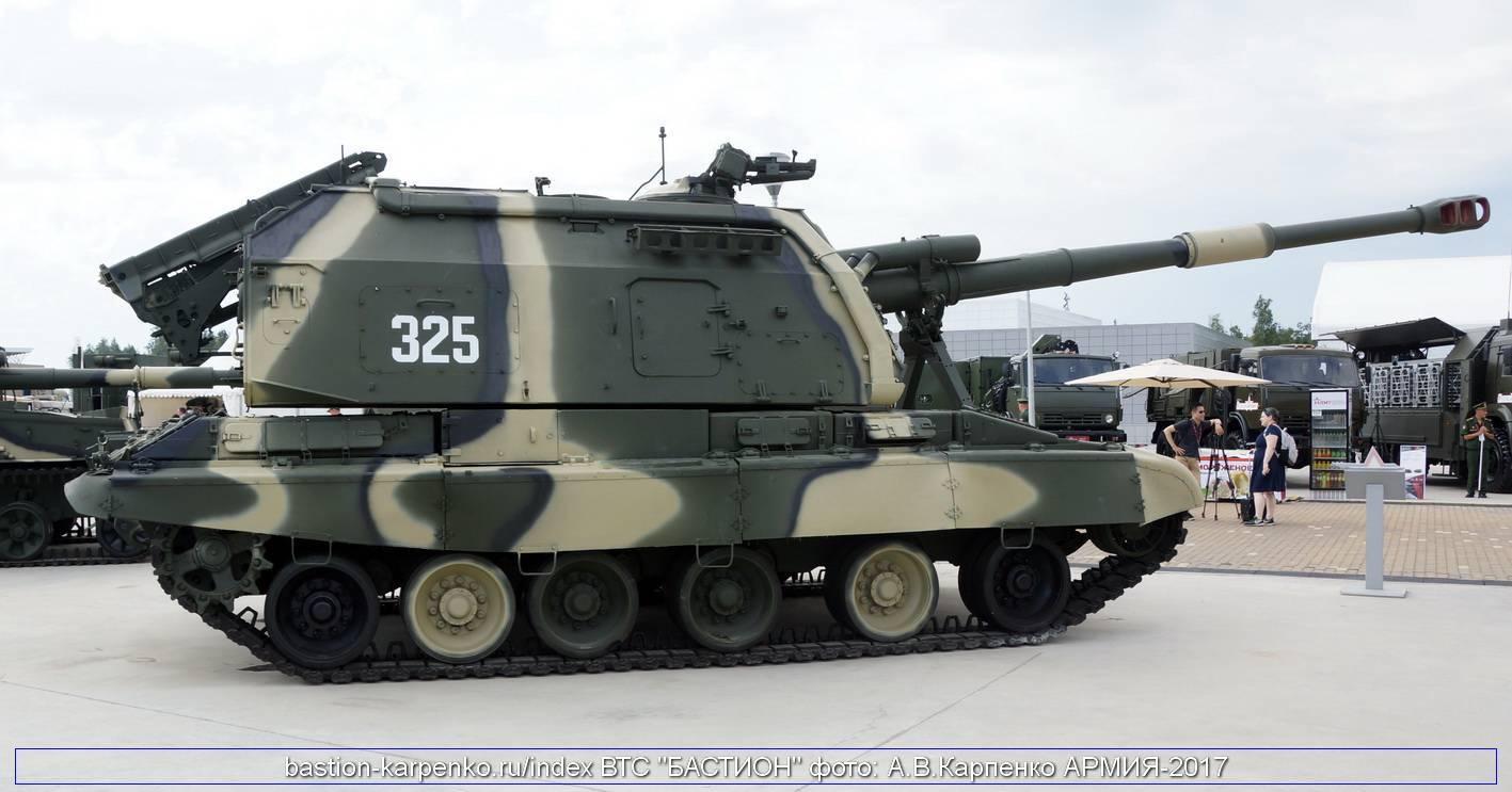 Самоходная артиллерийская пушка 2с19 «мста-с»