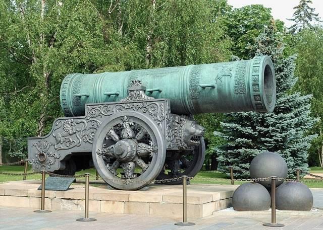 Царь-пушка – краткая история создания легендарного орудия