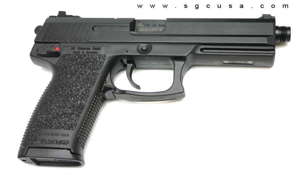 Пистолет Mk 23 – отличные характеристики и невысокая популярность
