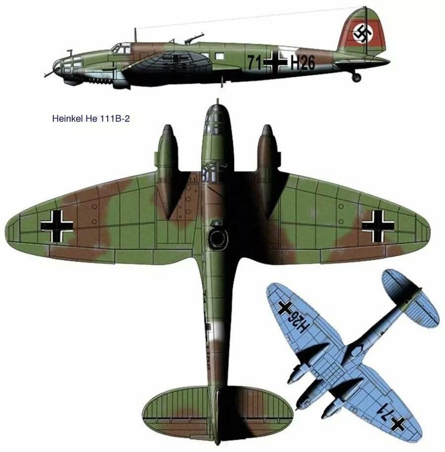 Heinkel he 111 — википедия. что такое heinkel he 111