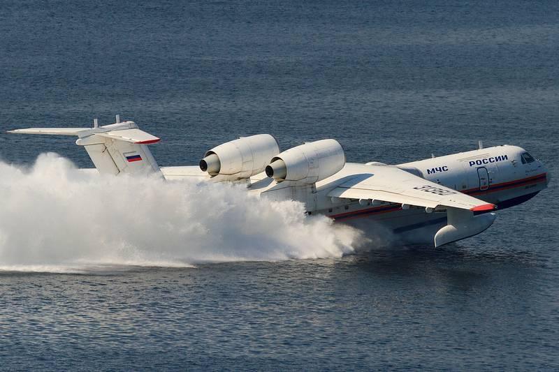 Бе-200: уникальный российский самолет-амфибия