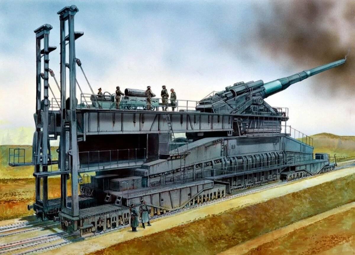 Золотой век артиллерии: самые мощные орудия мира