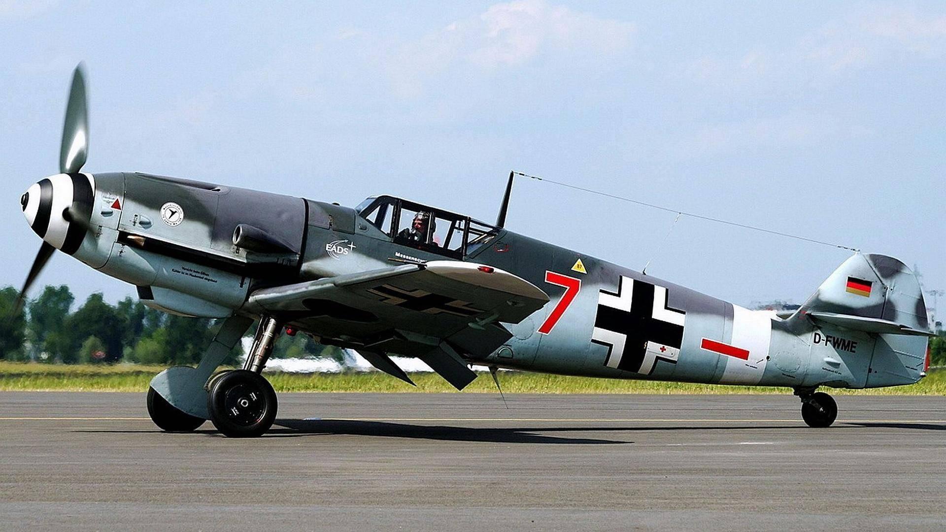 Самый массовый истребитель мира Messerschmitt Bf.109