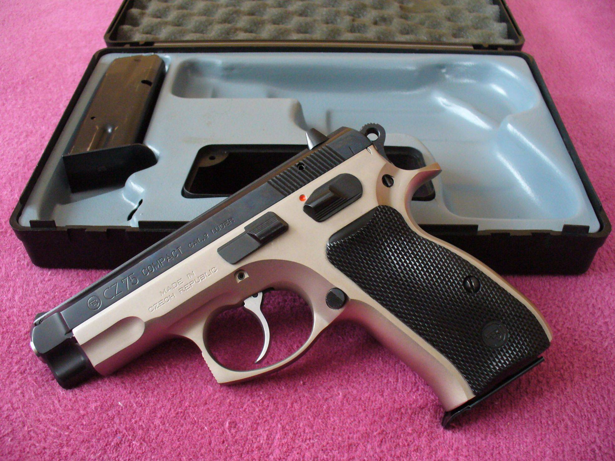 Пистолет CZ 75 BD