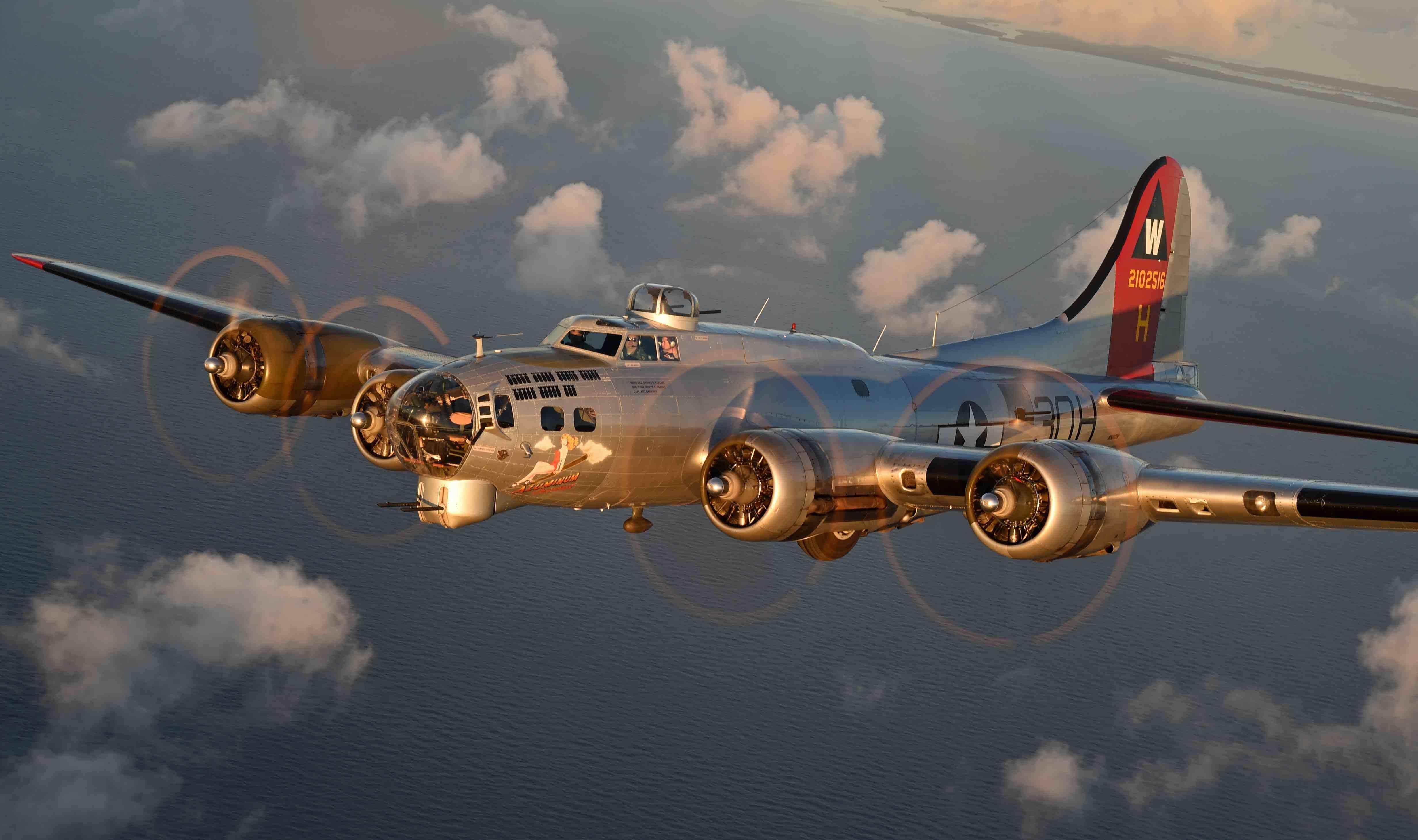 Первый американский четырехмоторный бомбардировщик боинг b-17 «flying fortress» | красные соколы нашей родины
