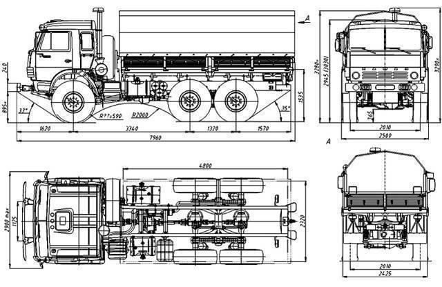 КамАЗ-43114 – вездеход с турбонаддувом