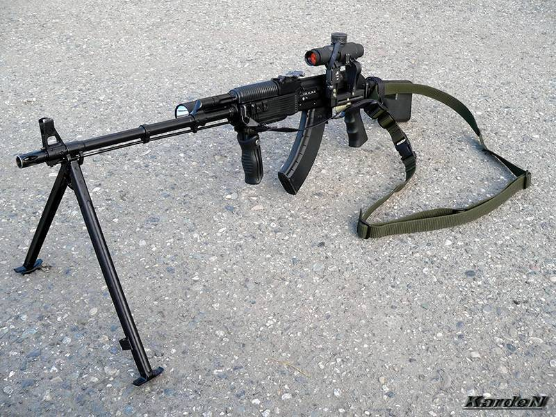Ручной пулемёт калашникова — википедия с видео // wiki 2