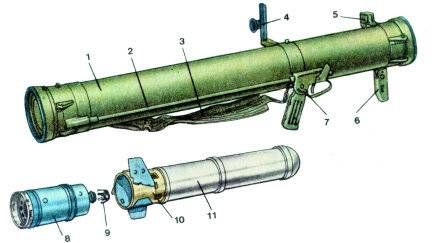 Гранатомет рпг-30 крюк. фото. видео. ттх