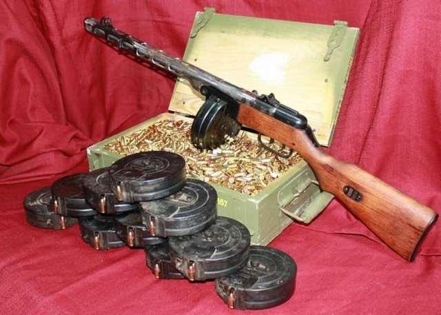 Пистолет-пулемёт ппд фото. ттх. видео. размеры. скорострельность. скорость пули. прицельная дальность. вес